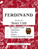 Ferdinand TPRS Spanish Film Story Unit in 3 Parts for Dist