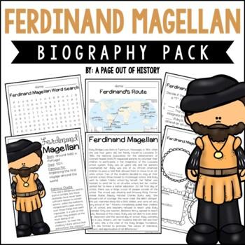 Ferdinand Magellan Biography Pack (New World Explorers)