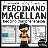 Ferdinand Magellan Biography Reading Comprehension Worksheet, Exploration