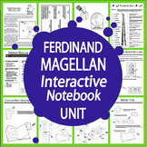 Ferdinand Magellan Spanish Explorer Interactive Notebook Unit