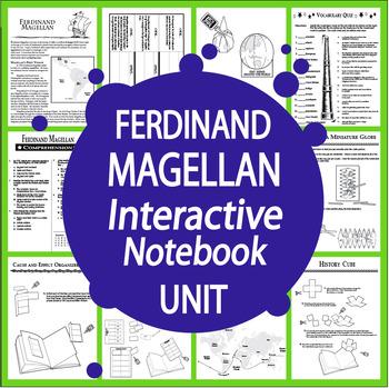 Ferdinand Magellan Spanish Explorer Interactive Notebook Unit