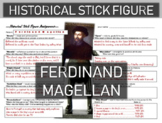 Ferdinand Magellan Historical Stick Figure (Mini-biography)