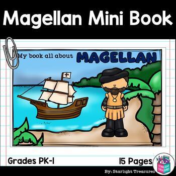 Ferdinand Magellan Mini Book for Early Readers: Early Explorers