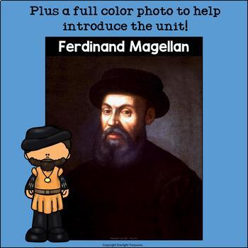 Ferdinand Magellan Mini Book for Early Readers: Early Explorers