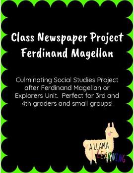 Ferdinand Magellan Newspaper Project