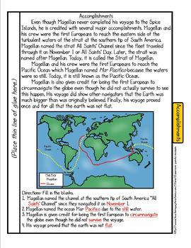 Ferdinand Magellan Tab Booklet
