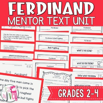 Ferdinand - Mentor Text and Mentor Sentence Lessons for grades 2-4