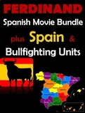 Ferdinand Movie Bundle with Spain & Bullfighting Units