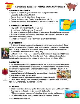 Ferdinand Movie Guide & Culture Unit - Spanish & English