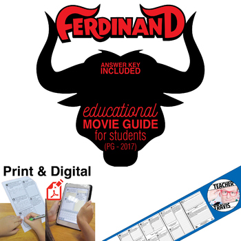Ferdinand Movie Guide (PG - 2017)
