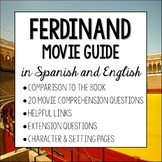 Ferdinand Movie Guide in Spanish and English