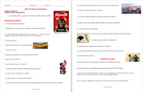 Ferdinand Movie Guide questions in Spanish & English. Bilingual