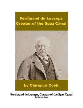 Ferdinand de Lesseps and the Suez Canal