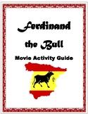 Ferdinand the Bull Movie Activity Packet