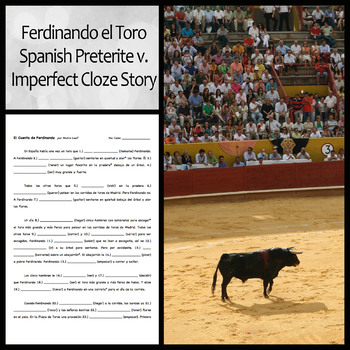 Ferdinando el Toro: Preterite and Imperfect Story