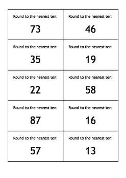 Ferg's Rounding Card Game