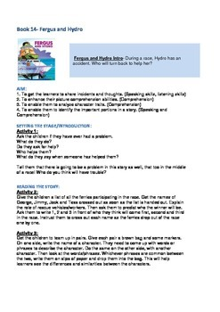 Fergus Ferry Book Lesson Plans For Book 14 Fergus and Hydro
