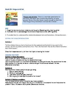 Fergus Ferry Book Lesson Plans For Book 22 Fergus and Jess