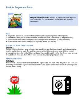 Fergus Ferry Book Lesson Plans For Book 8 Fergus and Boris