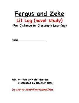 Fergus and Zeke Lit Log