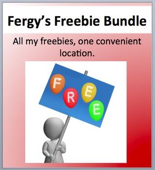 Fergy's Freebie bundle