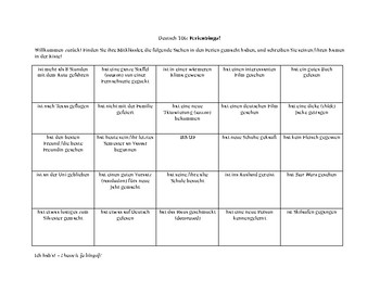 Ferienbingo / vacation bingo (GER 2)