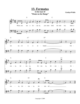 Fermata Song, Student Edition