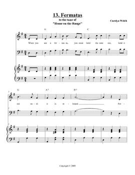 Fermata Song, Teacher Edition
