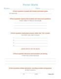 Fermi Math Planning Sheet
