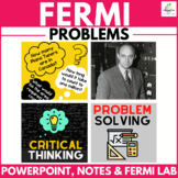 Fermi Unit   Problem Solving   Project Based Learning   Math Investigations