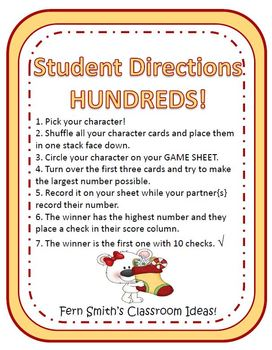 Christmas Place Value Math Center Games