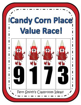 Halloween Place Value Math Center Games
