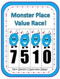 Halloween Place Value Math Center Games