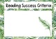 Fern Themed Learning Intentions & Success Criteria (with editable powerpoint)