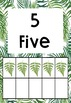 Fern Themed Numbers 1-10 (with tens frames) #ausbts18