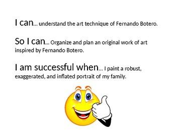 Fernando Botero Power Point Lesson