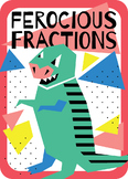 Ferocious Fractions Playing Cards
