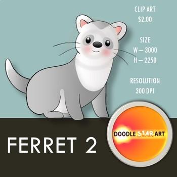 Ferret 2 Clip Art