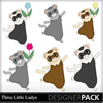 Ferrets clip art