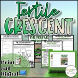 Fertile Crescent Activity {Digital AND Paper} Distance Learning