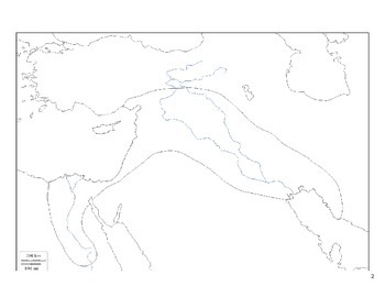Fertile Crescent Map Activity