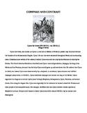 Fertile Crescent/ Mesopotamia Compare and Contrast Cyrus and Darius