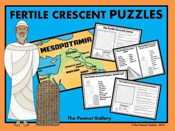 Fertile Crescent/Mesopotamia Puzzles