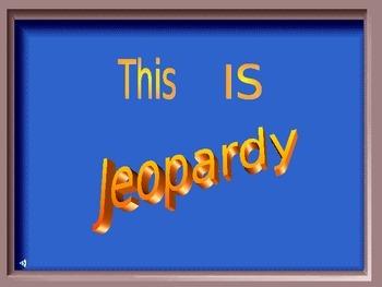 Fertile Crescent Region Jeopardy Game
