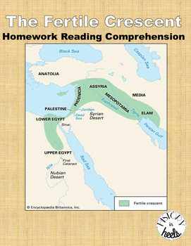 Fertile Crescent and Mesopotamia Reading Comprehension Anc
