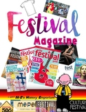 AMERICAN     Festival Magazine Cover and other artwork ideas
