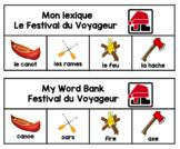 Festival du Voyageur Word Bank - Lexique (en francais)