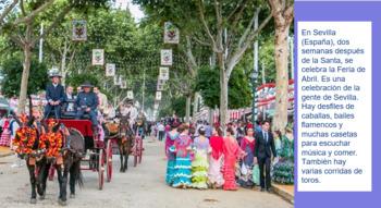 Festivales de la Primavera - Spring Festivals (Cultural Exploration Activity)
