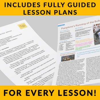 FREE - Festivals - Fun & Interesting ESL Readings with Full Lesson Plans!