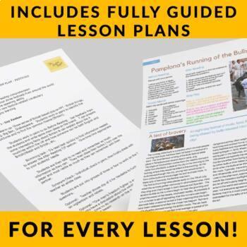 FREE! Festivals - Readings w/ Full Lesson Plans for ESL or High School Classes